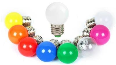 G40 G45 Colorful  Led replacement bulb