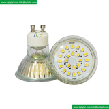 LED SMD Bulb Small Glass GU10 LED Cup 5W