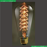 Incandescent Vintage Bulb for decoration ST64 40W with Tree shape