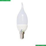 LED Light Bulb SMD candle C35 Plastic with Ceramic