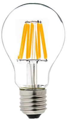 LED Filament Bulb A60/A19 100pcs per CTN